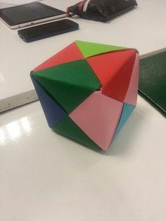 Caja Cubo - Origami