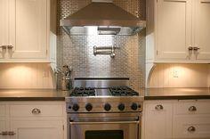 73 best stainless steel tile images kitchen backsplash kitchen rh pinterest com