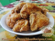 The angel of Southern abundance lies on a table breadth mounds of crispy, aureate absurd craven are begin forth with collard greens, mashed potatoes and mac n' Recipe Chicken Joy Jollibee Filipino Fried Chicken Recipe, Crispy Fried Chicken, Fried Chicken Recipes, Filipino Recipes, Filipino Food, Filipino Dishes, Recipe Chicken, Allergy Free Recipes, Meat Recipes