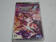#5 Japan game PSP Phantasy Star Portable 2 SEGA Free Shipping Japanese anime  #SEGA
