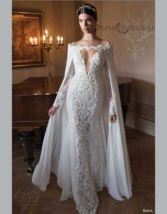 vestido-de-noiva-inverno-2015-2016-longo-com-capa-em-renda-bordada