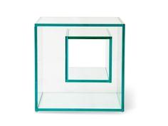 Vidrotec - Móveis de Cristal - Mesas de Vidro - Aparadores - Espelhos - Mesa Lateral Prisma 3