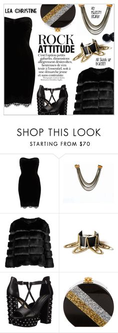 """""""Rock Attitude"""" by shambala-379 ❤ liked on Polyvore featuring River Island, AINEA, Rebecca Minkoff and Edie Parker"""