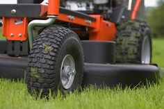 Change Your Riding Lawn Mower Tires   DoItYourself.com