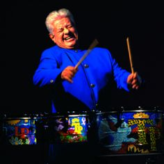 Tito Puente was a musical pioneer, mixing musical styles with Latin sounds and experimenting in fusing Latin music with jazz.