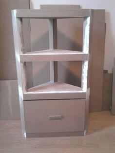 Tutoriales de muebles en cartón                              …
