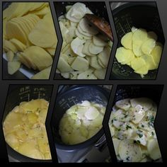 Scalloped Potatoes in a Rice Cooker For those who miss the rich starchy comfort food from home but don't have an oven to make it, there is a way. Use your rice cooker! Ingredients: 6 medium-sized potatoes (about Aroma Rice Cooker, Pressure Cooker Rice, Rice Cooker Steamer, Rice Cooker Recipes, Pressure Cooker Recipes, Rice Recipes, Cooking Recipes, Best Rice Cooker, Pots