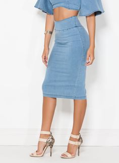 This super versatile, comfy skirt will be making the daily rounds in your closet.