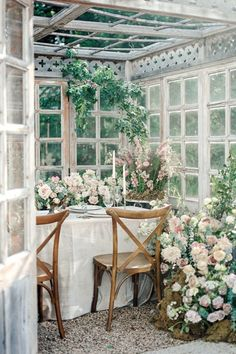 Greenhouse inspiration Photo: @lauren_marks_photography