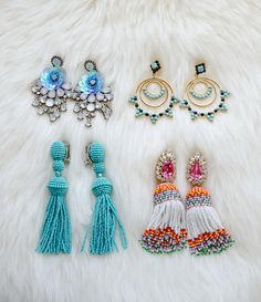 I want all of these earrings