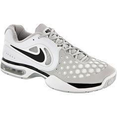 Nike Air Max Courtballistec 4.3: Nike Men's Tennis Shoes White/black/silver/gray
