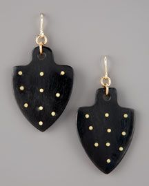 // Ashley Pittman. Moyo Studded Earrings.