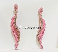 12 Awesome Paper Quilling Jewelry Designs To Start Today – Quilling Techniques Quilling Images, Paper Quilling Designs, Quilling Paper Craft, Quilling Patterns, Quiling Earings, Paper Quilling Earrings, Quilling Work, Thread Jewellery, Paper Jewelry
