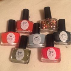 Ciate nail polish bundle Ciate mini nail polish bundle. All, but one is new. Play date used once. The rest have never been opened. Starlet, sequin Dallas daily, encore!, hopscotch, chinchilla, tweed and tails and play date. Ciate Other