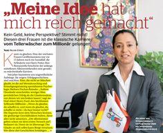 """Vom Tellerwäscher zum Millionär"""" – Bella, 01/2014"""