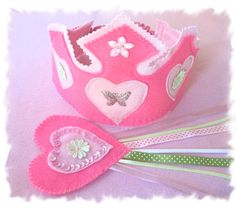 Dress Up Crown Fairy Wand Birthday Crown by MelsCreativeWishes, $22.00