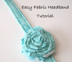 """Easy Fabric Headband Tutorial"" by Rosey Corner Creations"