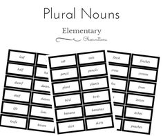 Montessori Types of Nouns Word Sort This word sort is