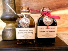 Italian Wedding Favors Infused Olive Oils / Crema by AltaCucina, $16.00