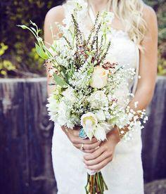 Ramos de novia con follaje para 2014 - Foto Michelle Gardella