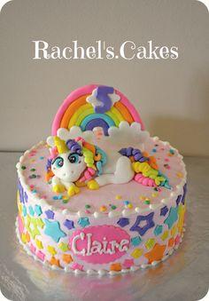Rainbow Unicorn Cake www.facebook.com/the.rachels.cakes
