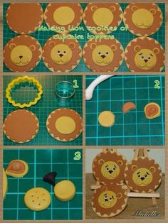 Lion topper - For all your cake decorating supplies, please visit craftcompany.co.uk