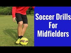 Soccer Drill For Midfielders | Improve Your Passing and Receiving - YouTube