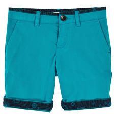 Paul Smith Junior - Cotton twill bermudas - Electric blue - 106693