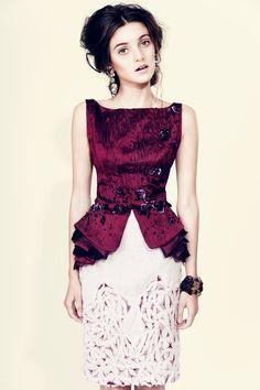 Designer: Ryan Joelson, Toronto,  fashion - Love this one!