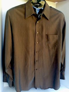 Lightly Used Geoffrey Beene Men's Long Sleeve Dress Shirt Size L | Clothing, Shoes & Accessories, Men's Clothing, Dress Shirts | eBay!
