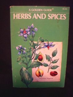 Herbs and Spices A Golden Guide Book by Julia F Morton Paperback 1976 0307243648 | eBay
