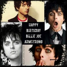 Happy birthday my hero Billie Joe Armstrong ^-^ :* ♡