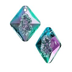 edbba05d1 Swarovski Crystal, #6926 Growing Crystal Rhombus Pendant 26mm, 1 Piece,  Crystal Vitrail Light