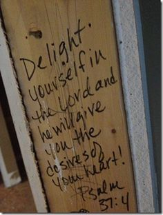 When building, write bible verses on the framing! Blessed house!