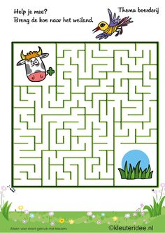 Goody bag print out Farm Games, Farm Activities, Preschool Games, Kindergarten Activities, Farm Animal Crafts, Sheep Crafts, Spot The Difference Kids, Maze Worksheet, Arabic Alphabet For Kids