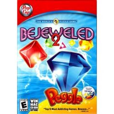 BEJEWELED 2 WITH PEGGLE PC Video Game Special Edition