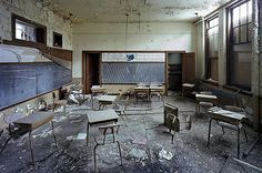 Detroit's Beautiful, Horrible Decline: St. Margaret Mary School by Yves Marchand and Romain Meffre