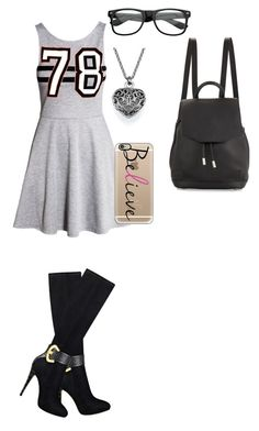 """Untitled #69"" by shaziwazi on Polyvore featuring H&M, GUESS, rag & bone and Casetify"