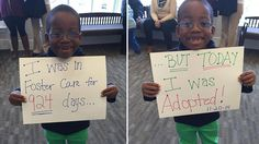 22 Heartwarming Photos Of Kids Adopted From Foster Care Im Happy, Make Me Happy, Make You Smile, Happy Song, Happy Life, The Fosters, Keith Urban, Foster Care Adoption, Faith In Humanity Restored
