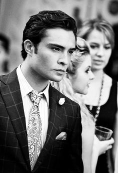 Chuck Bass. Not sure why I'm so addicted to him.....