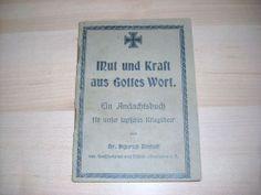 WK 1 WK 2 Ein Andachtsbuch für unser tapferes Kriegsheer