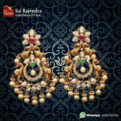Gold Jewelry Buyers Near Me Gold Jhumka Earrings, Jewelry Design Earrings, Gold Earrings Designs, Gold Jewellery Design, Chand Bali Earrings Gold, Gold Designs, Gold Jewelry Simple, Indian Wedding Jewelry, Bridal Jewelry