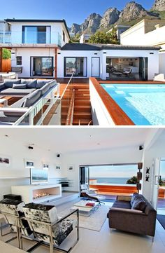 The only blues you'll have is the endless ocean views! Ocean Views, Blues, Villa, Magic, Mansions, House Styles, City, Home Decor, Decoration Home