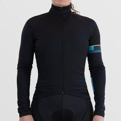 Womens Classic Black Long Sleeve Jersey 64ad33168
