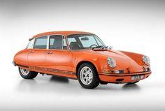 Un team di artisti grafici immagina la combinazione fra una Citroen DS ed una Porsche 911. Il risultato è sorprendente.