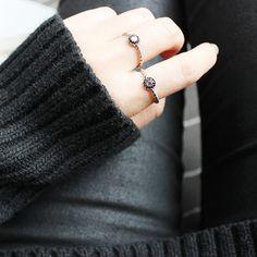 custom jewerly brand AES / ring / pearl / acc / aotd / jotd / fashion / jewerly /