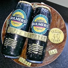 Bulmers cans cake