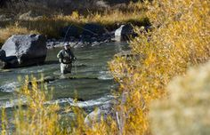 Central Oregon has a bounty of winter fishing, including the Crooked River east of Bend.