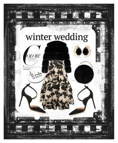 """Winter Wedding"" by katsianna on Polyvore featuring Jovani, Gianvito Rossi, Eddie Borgo, Bounkit and Givenchy"
