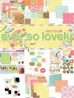 Another digital scrapbooking site I love. Great kits, reasonable prices! Fun stuff....great ideas....